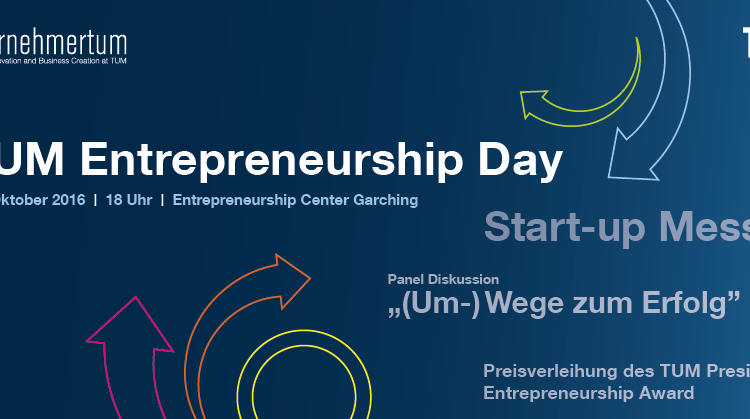 TUM Entrepreneurship Day