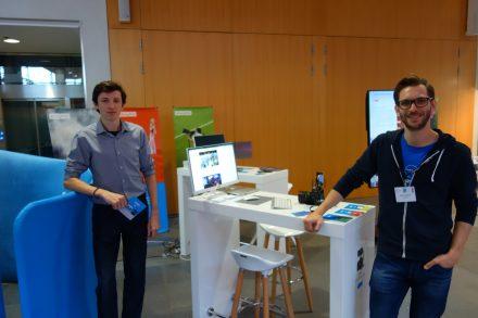 Alex Nita (l.) und Oliver Seidl (r.) von Storytile.