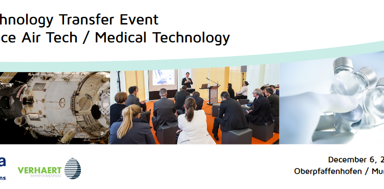 Technology Transfer Event: Space Air Tech / Medical Technology