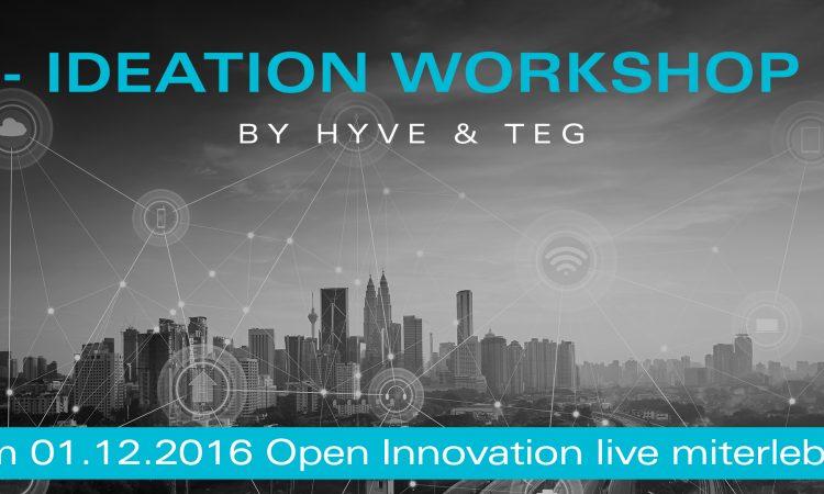 Ideation Workshop – Open Innovation live erleben
