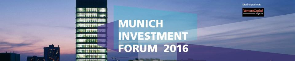 munich investment forum 2016