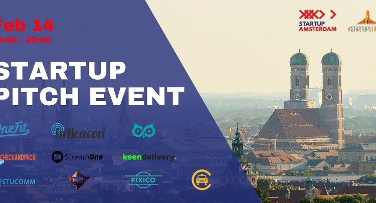 Amsterdam-Utrecht Startup Bootcamp: Startup Pitch Event