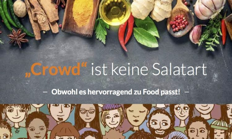 Workshop Food Crowdfunding: Wie finde ich meine Crowd?