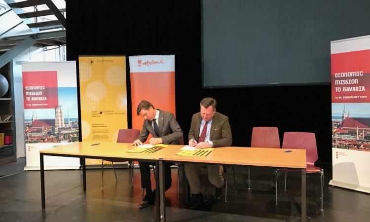 Creative Embassy – Amsterdam und München unterzeichnen Kooperation