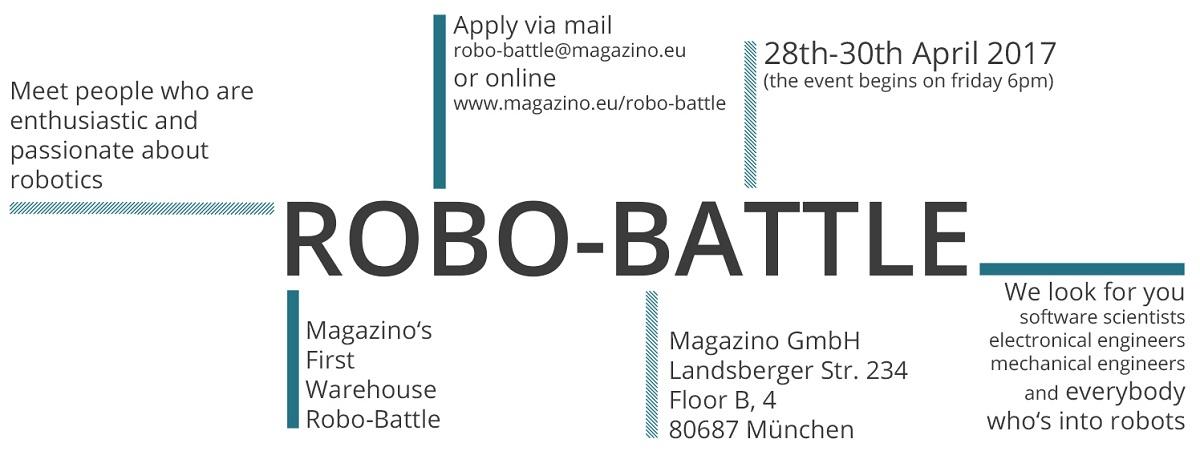 magazino robo battle