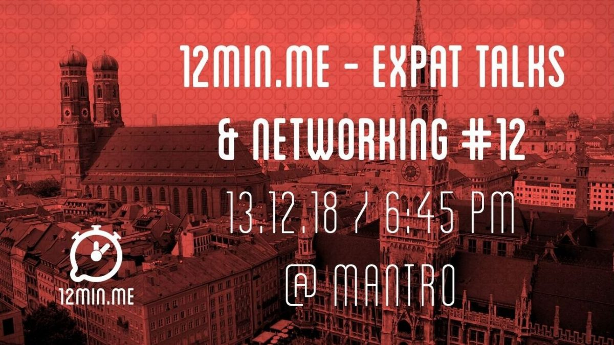 12min.me – Expat Talks & Networking #12 (ENGLISH)