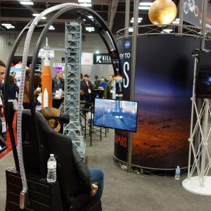 Mit der NASA kann man auf der SXSW in VR zum Mars fliegen, Foto: Munich Startup