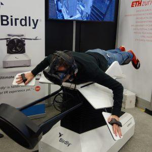 Der Vogelflug-Simulator Birdly, Foto: Munich Startup