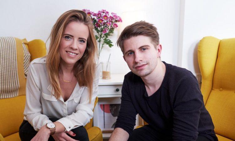 mayze Gründer Marianne Kraai und Dominic Phillips