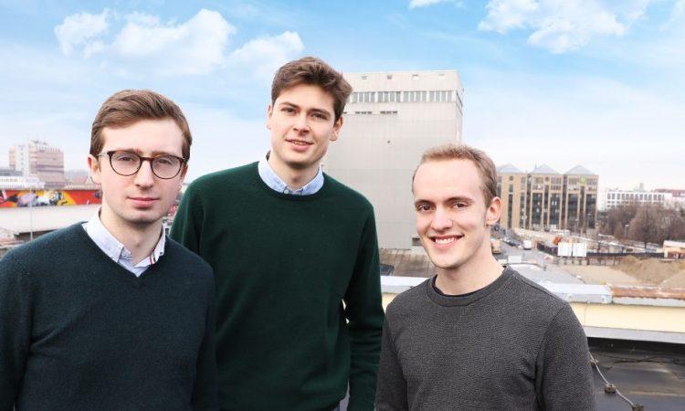 weview Gründerteam - Jakob von Egidy, Leopold von Waldthausen, Christoph Pröschel (v.l.n.r.)