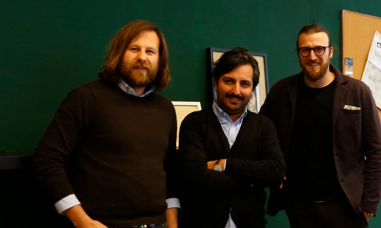 Die Bohème-Gründer Amadeo Gaigl, Mohsen Fazeliniaki und Vincenzo Di Salvo (v.l., Foto: Bohème)
