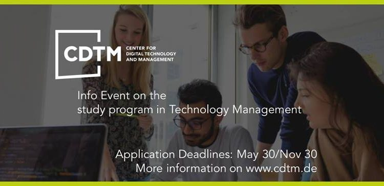 CDTM Information Events