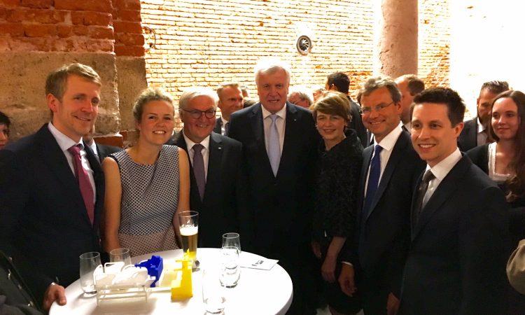 Bundespräsident trifft Münchner Startups