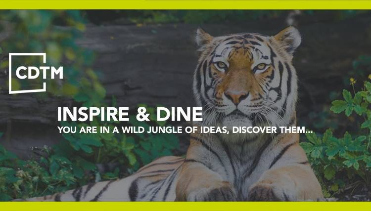 CDTM Inspire&Dine Speaker Series – June 20th