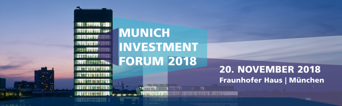 Munich Investment Forum 2018