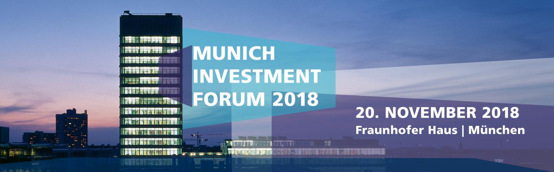 Munich Investment Forum 2018