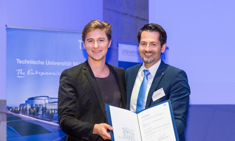 konux TUM Presidential Entrepreneurship Award