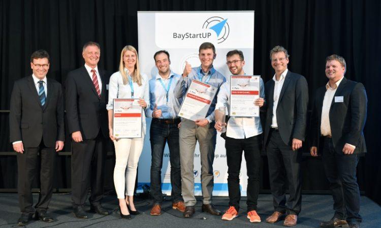 Münchener Businessplan Wettbewerb Gruppenbild Sieger