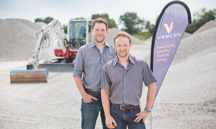Vemcon Gründer Jan Rotard und Julian Profanter