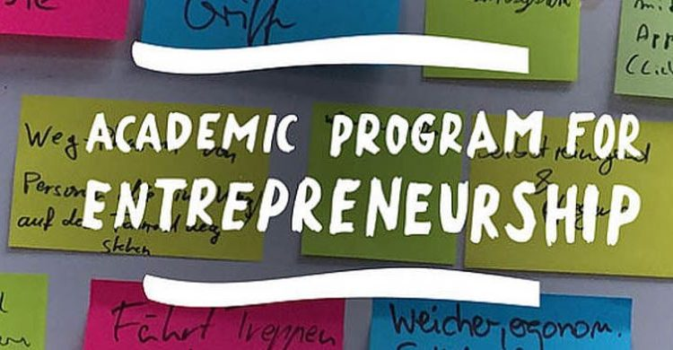 Academic Program for Entrepreneurship