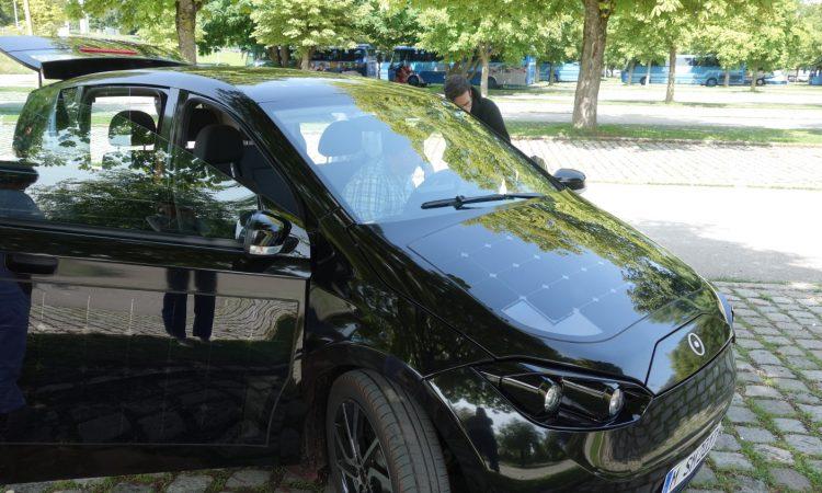 Sono Motors Sion Probefahrt