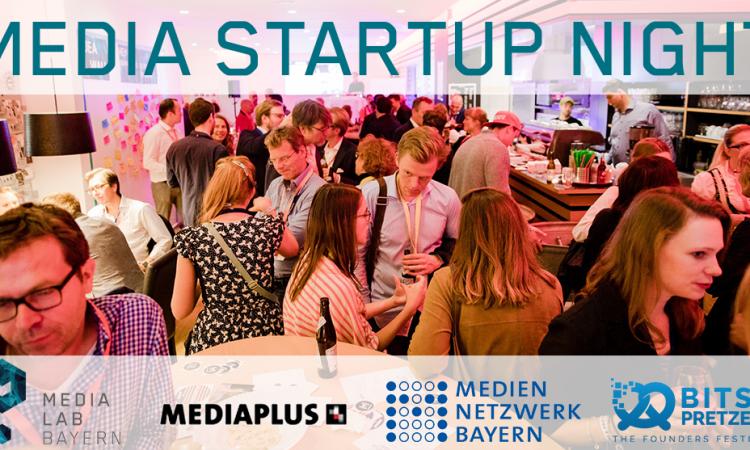 Media Startup Night @ Bits & Pretzels