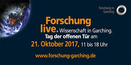 Forschungscampus Garching: Tag der offenen Tür