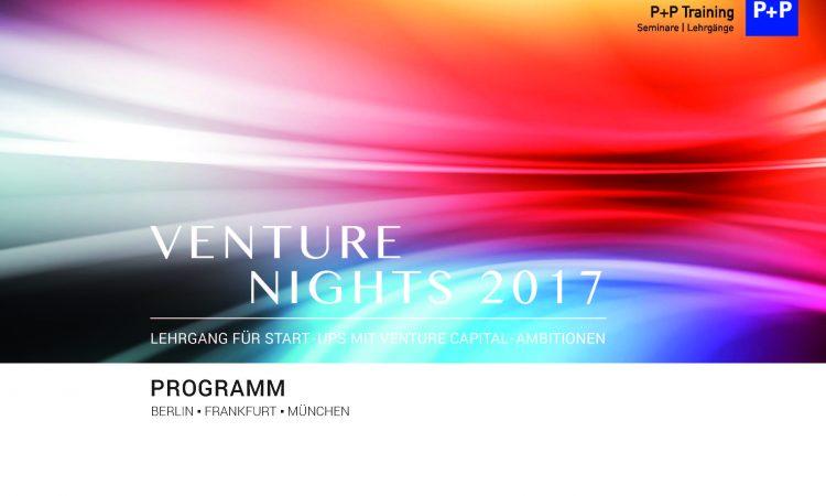 Venture Nights – FinTech / Crowdinvesting