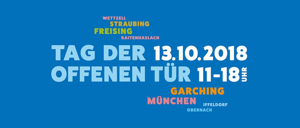 Forschungscampus Garching: Tag der offenen Tür 2018