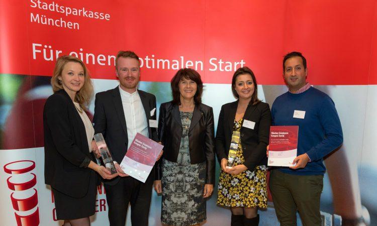 Preisträger Münchner Gründerpreis 2017