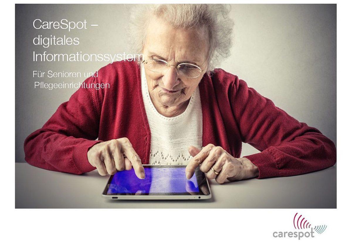 SenioCareSpotTV-Tablet