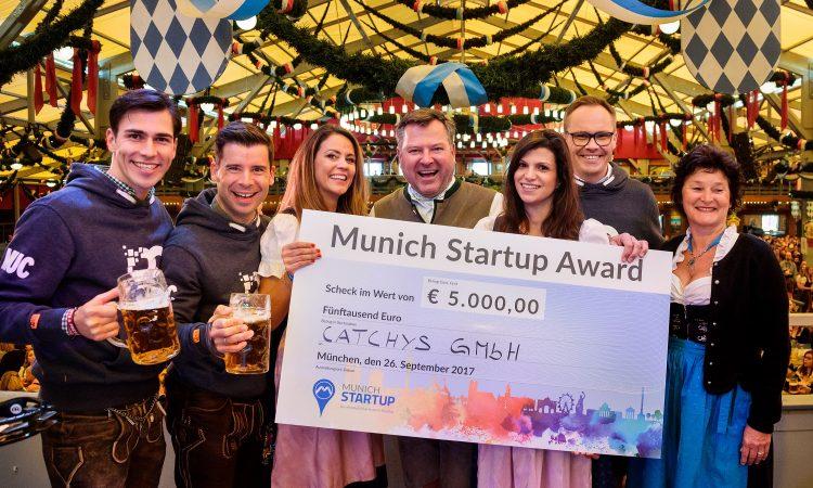 CATCHYS: Siegreich beim 2. Munich Startup Award