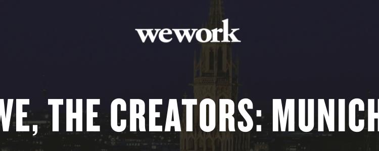 WE, THE CREATORS: MUNICH