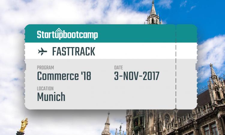 Startupbootcamp Commerce FastTrack Munich