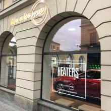 Mercedes Benz Popup Store