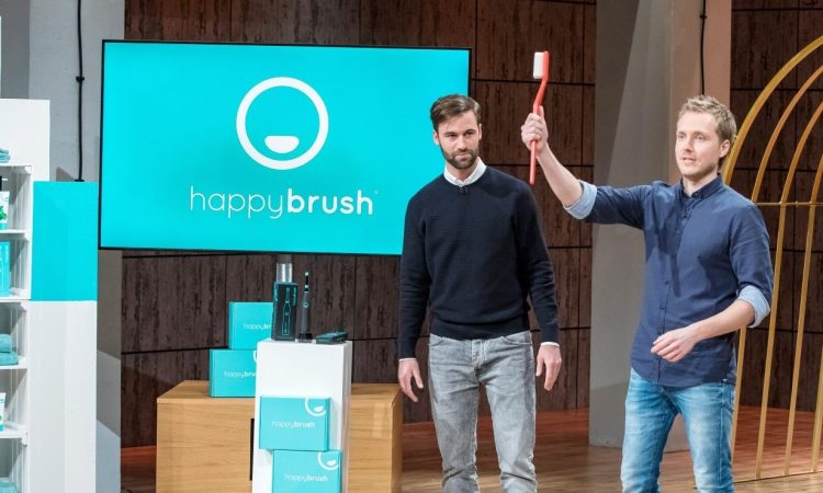 happybrush bei DHDL