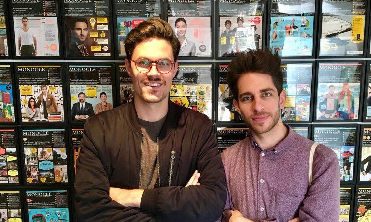 Zwei der Picter-Gründer: Claudio Ricci (l.) und Simon Karlstetter (r.), Foto: Picter
