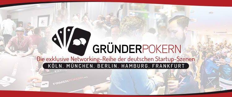 Gründerpokern v3.5 München powered by WERK1