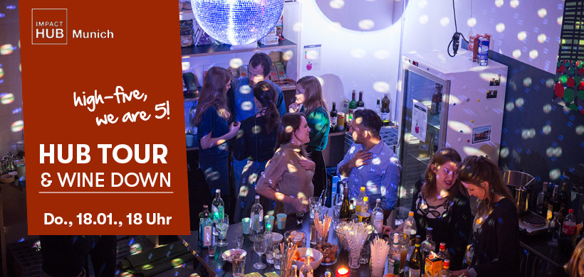 Anniversary Hub Tour & Wine Down