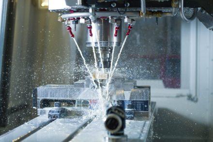 CNC Fräse im Einsatz