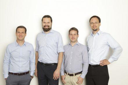 Die vier Gründer von CQSE.