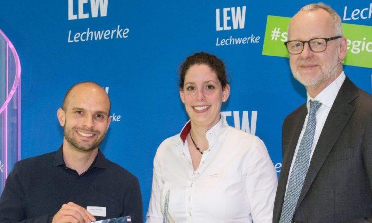 ParkHere erhält LEW-Innovationspreis der Lechwerke