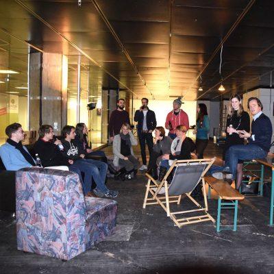 opening event of innovator space e.V. @ Münchner Freiheit 7