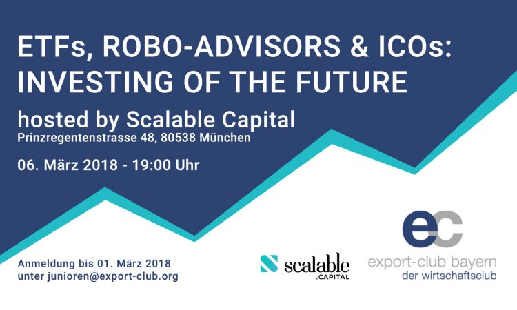 "FinTech Panel ""ETFs, Robo-Advisors & ICOs: Investing of the Future"""