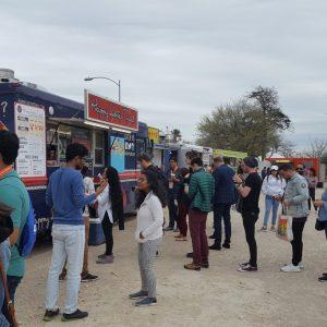 Foodtrucks bei der SXSW in Austin