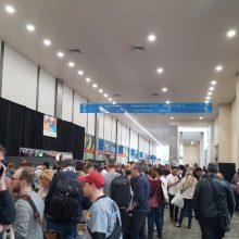 Schlangestehen bei der SXSW 2018