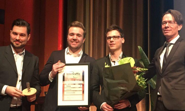 ParkHere Intertraffic Award