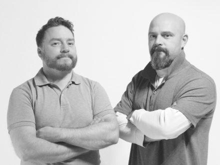 Das Gründerteam Fabian Kunz und Florian Roebbeling.