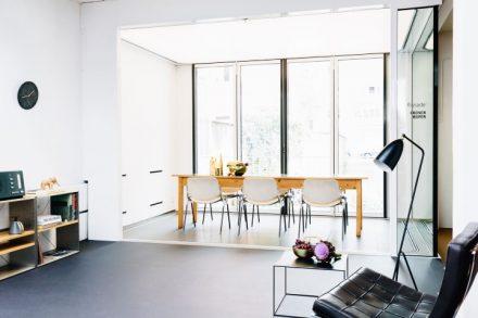 Wohnzimmer, Balkon oder Büroraum - die flissade ist ein Verwandlungskünstler