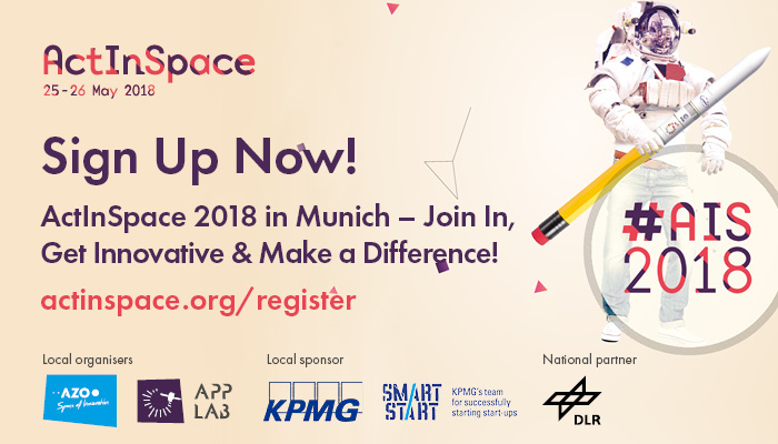 ActInSpace 2018 in Munich